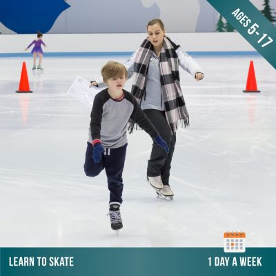 Learn to ice skate at Cockburn Ice Arena. Ice skating lessons for kids.