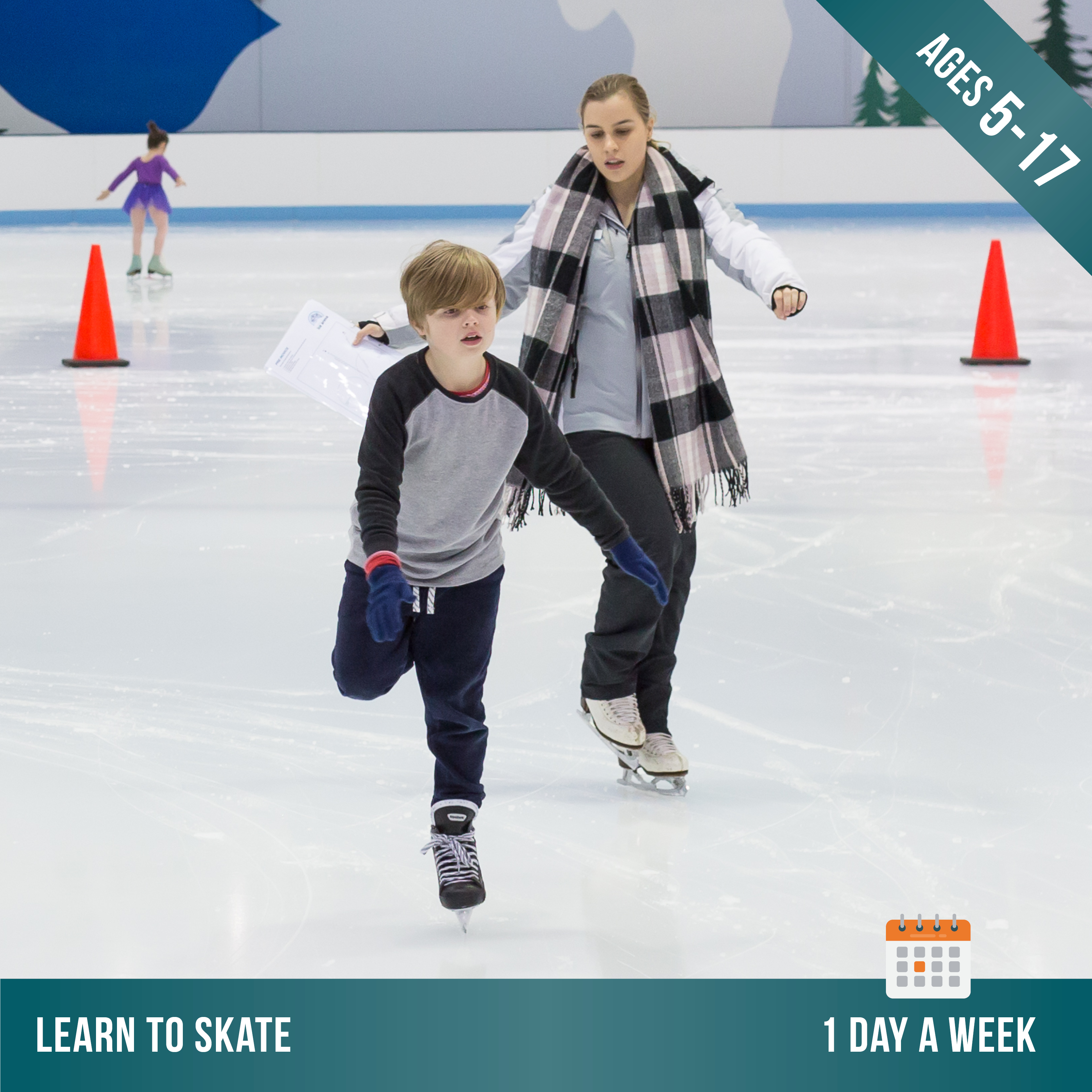 Learn To Skate 1 Day Per Week Ages 5 17 Cockburn Ice Arena
