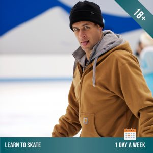 Learn to ice skate at Cockburn Ice Arena. Adult ice skating lessons 1 day per week.