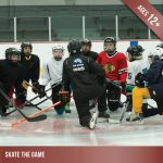 Skate the Game - Ice hockey for players aged 12 and up.