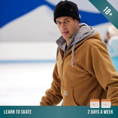 Learn to ice skate at Cockburn Ice Arena. Adult ice skating lessons 2 days per week.