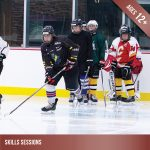 Ice hockey - Skills sessions for players aged 12 and up.