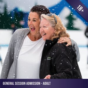 Adult admission to a general ice skating session