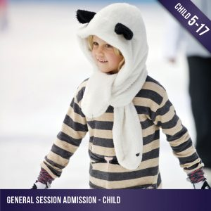 Child admission to a general ice skating session