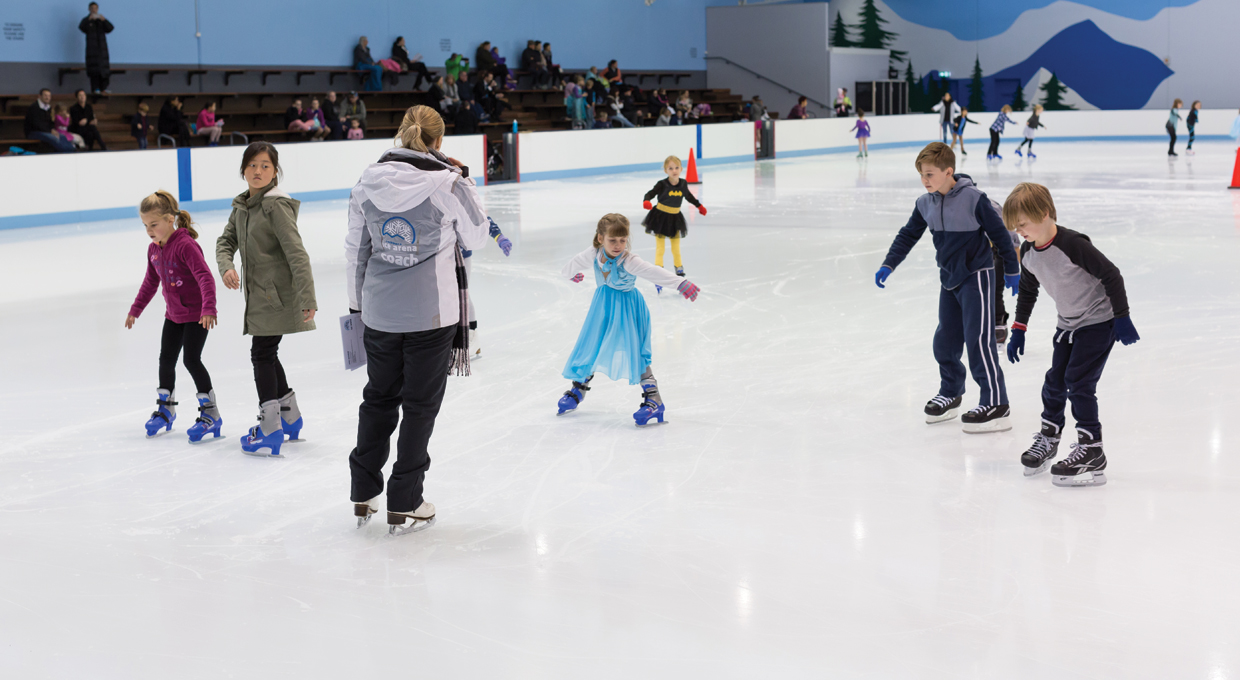 Learn to Ice Skate at Cockburn Ice Arena