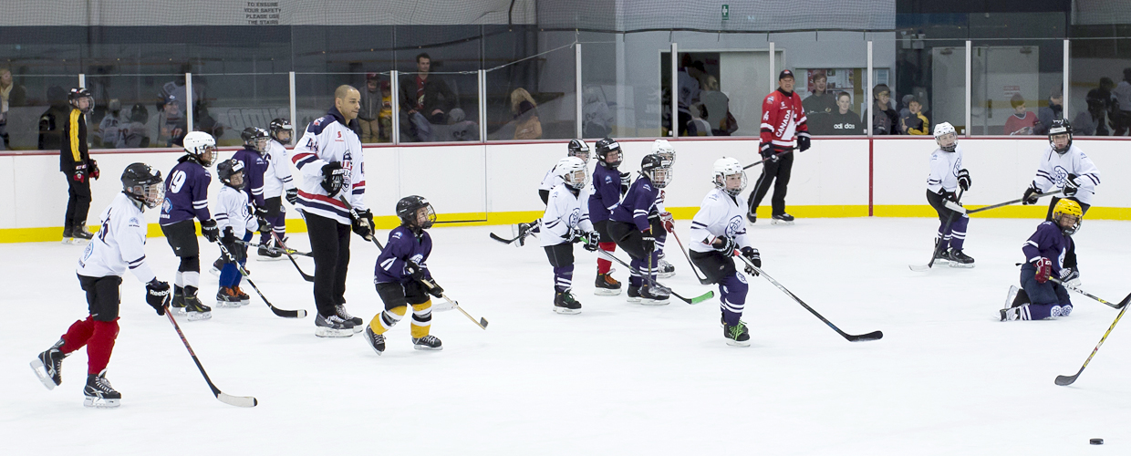 Atoms ice hockey program - small area games