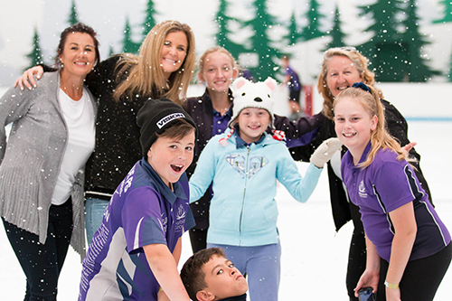 Ice skating excursions for schools