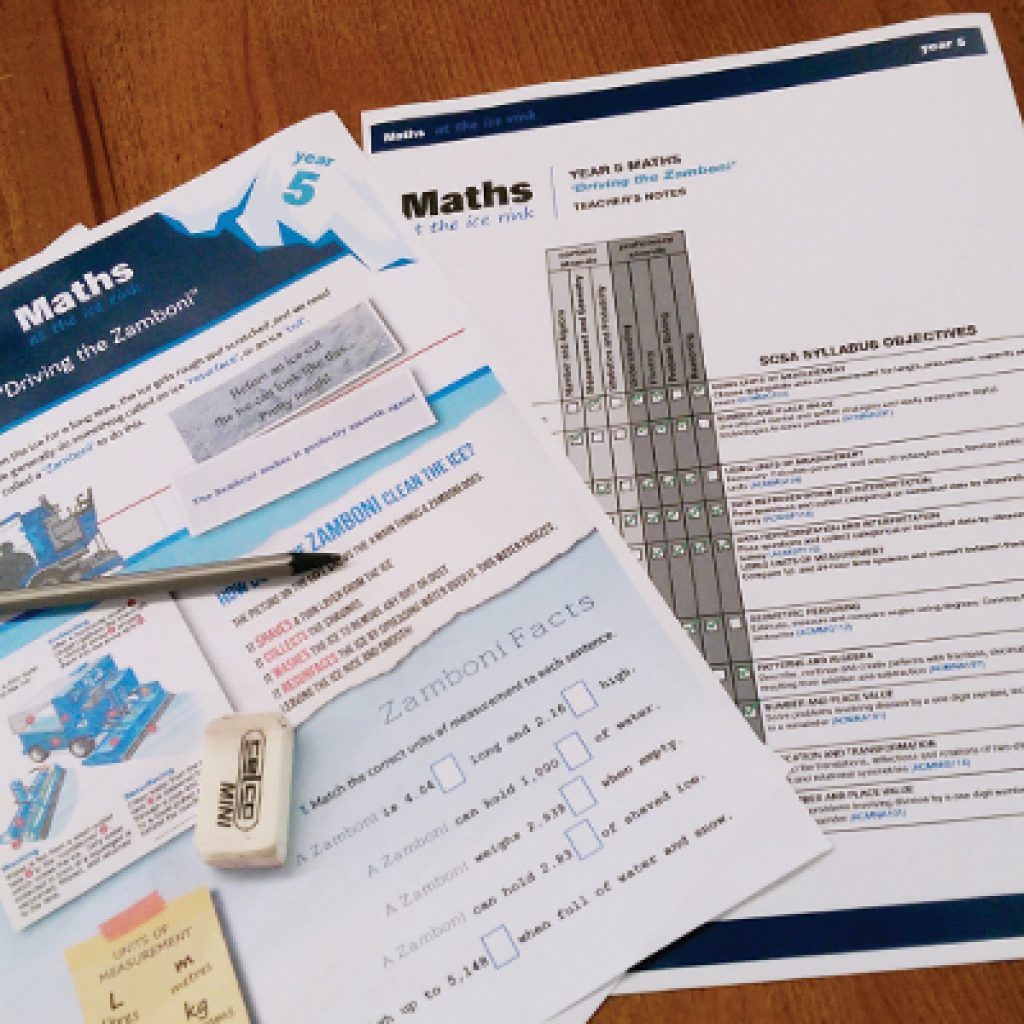 Maths and Science Edcursion student worksheets and teacher's notes