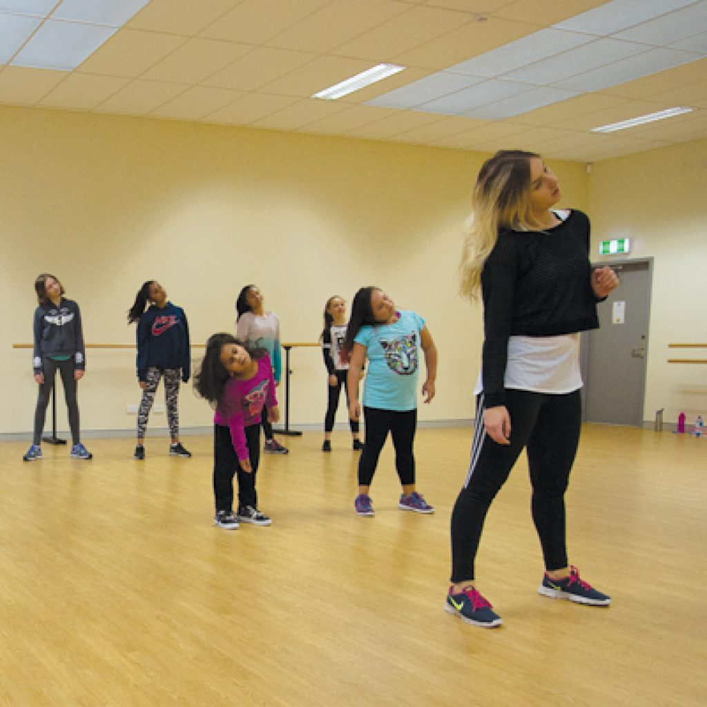 Hip-hop classes at Cockburn Ice Arena in our studio