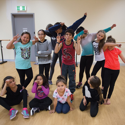 Hip hop classes at Cockburn Ice Arena