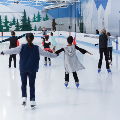 Term based ice skating lessons for your school
