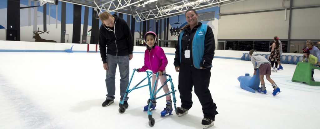All Abilities inclusive ice skating sessions at Cockburn Ice Arena