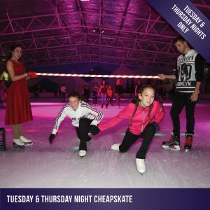 $15 ice skating sessions every Tuesday and Thursday night at Cockburn Ice Arena