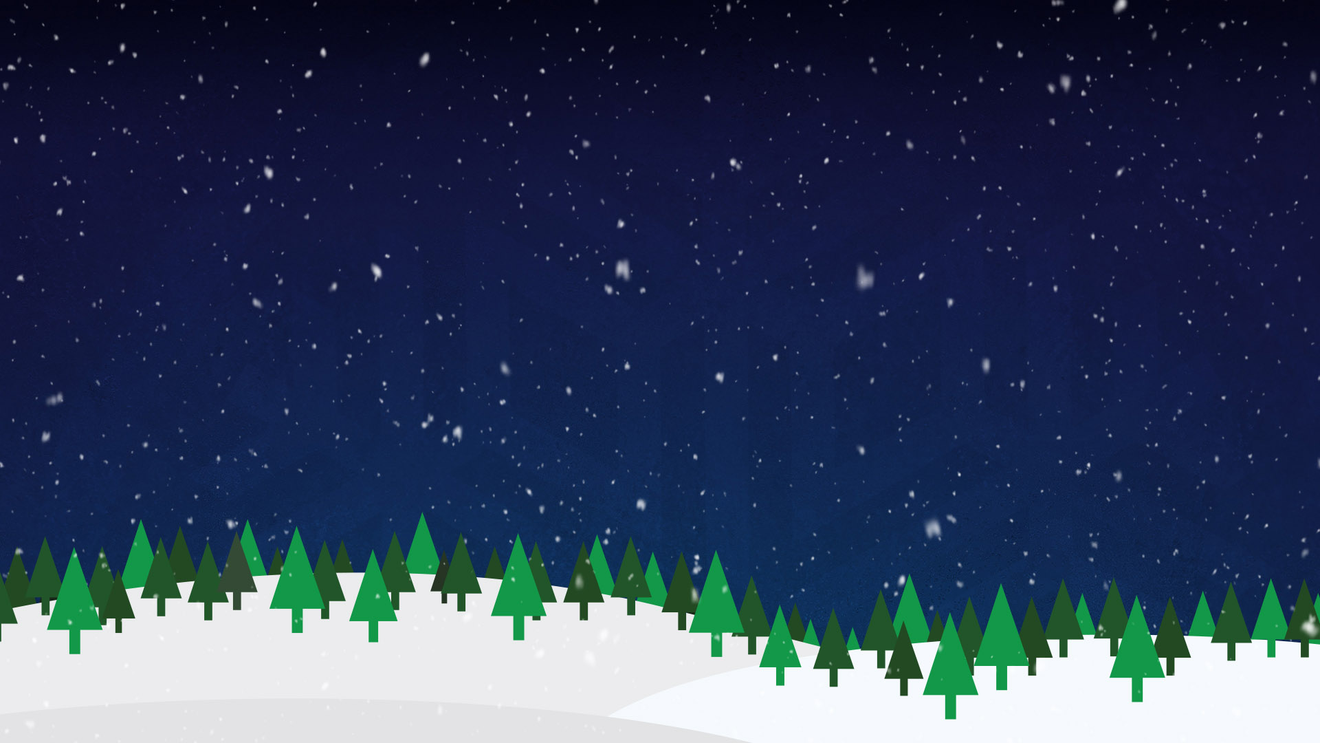 Snowy pine tree background image for the christmas skate event