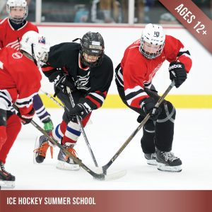 Ice hockey summer school for players aged 12+ at Cockburn Ice Arena