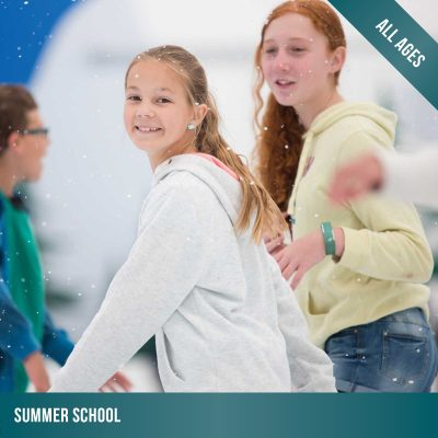 Summer School holiday ice skating lessons at Cockburn Ice Arena