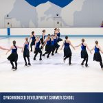 Summer School holiday synchroninsed skatin program at Cockburn Ice Arena
