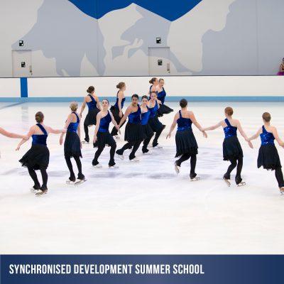 Summer School holiday synchroninsed skatin program at Cockburn Ice Arena