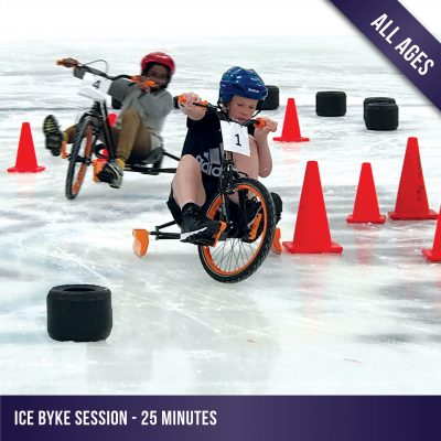 ice bykes avaliable for all ages