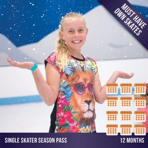 Cockburn Ice Arena ice skating season pass - 12 months