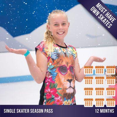 Cockburn Ice Arena ice skating season pass - 12 months