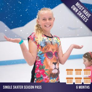 Cockburn Ice Arena ice skating season pass - 6 months