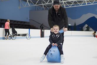 Skating aids are free during All Abilities Sessions