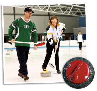 Learn the sport of curling at Cockburn Ice Arena