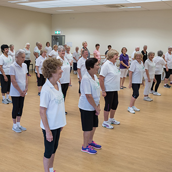 Prime Movers seniors dance classes