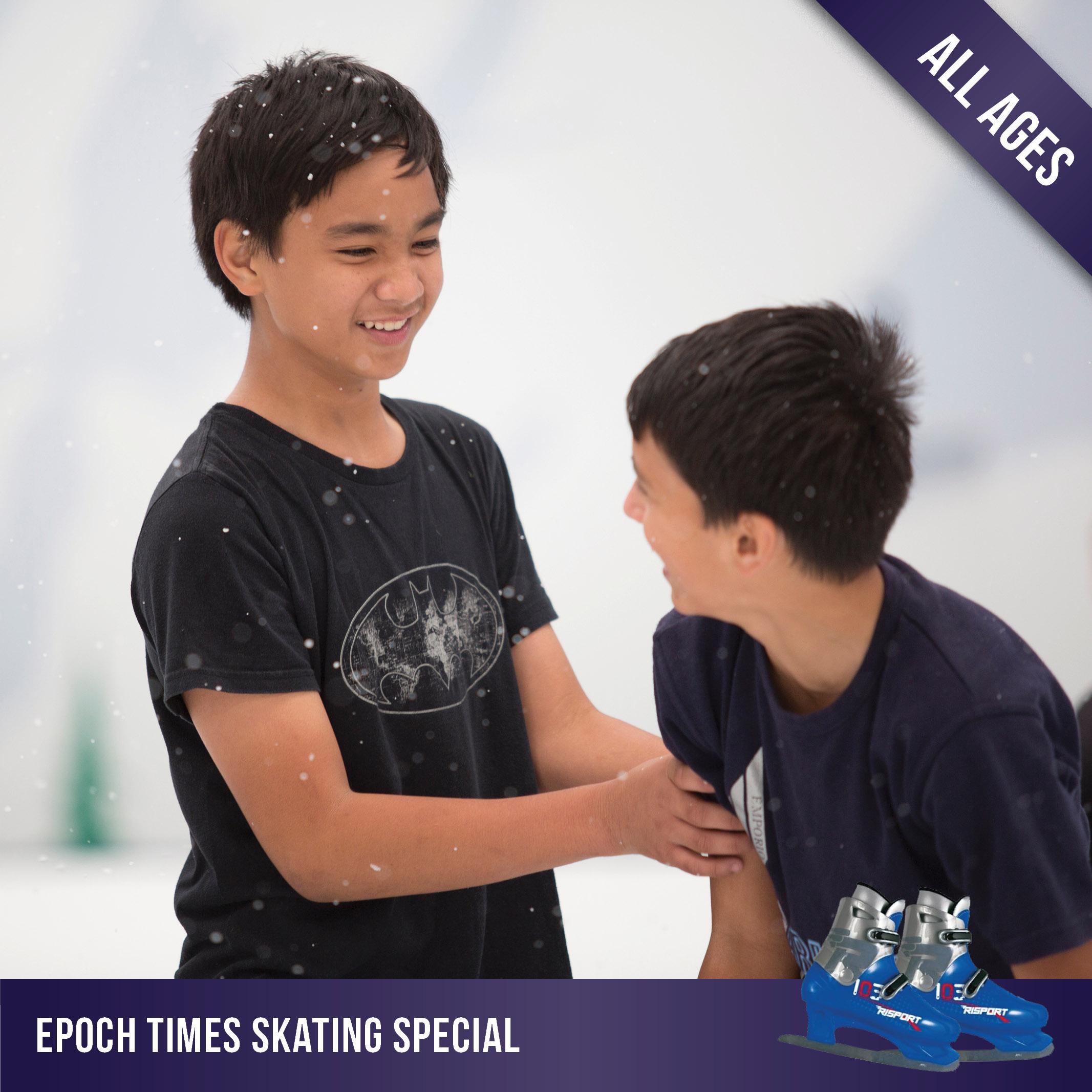 epoch times newspaper skating special