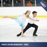 private ice skating membership family