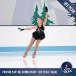 private ice skating membership off peak figure