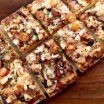 house made pizza slab