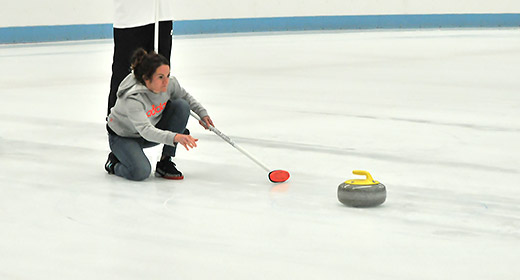 Come and give curling a try to see if its the right sport for you