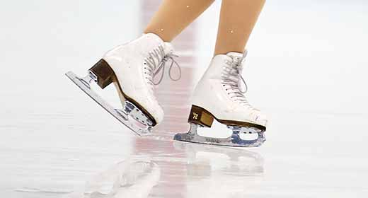 We have the largest range of figure skates and protective gear available in perth