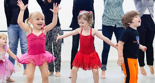Dance class for toddlers