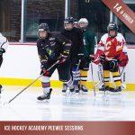 Ice hockey training for Peewees - children under 14