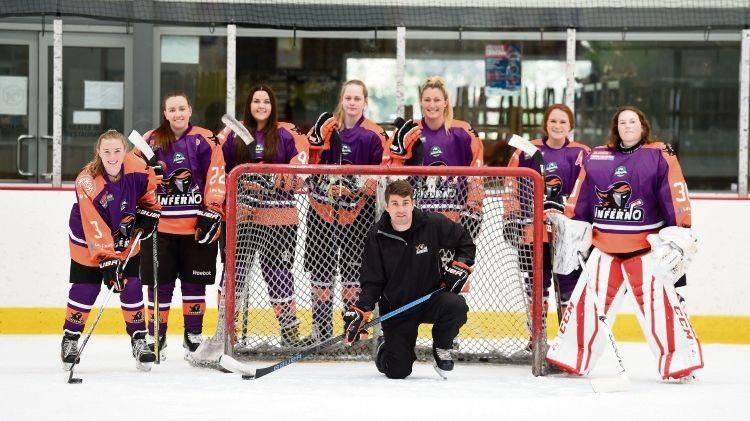 Perth Inferno womens ice hockey team