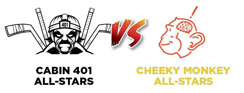 Cabin 401 All-Stars vs Cheeky Monkey All-Stars